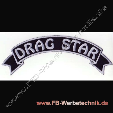 1049 DRAG STAR Aufnaeher Patch