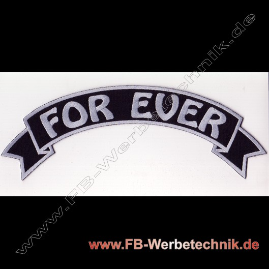 1066 FOR EVER Aufnäher Biker Patch