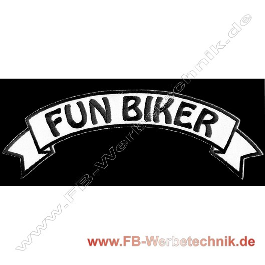 1074 FUN BIKER Aufnäher Biker Patch