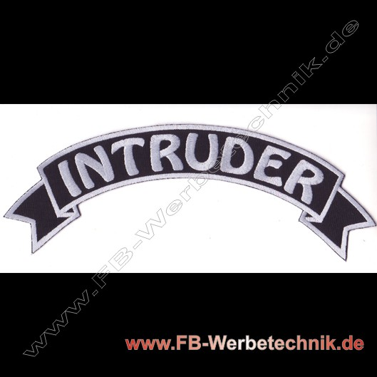 1097 INTRUDER Aufnäher Biker Patch