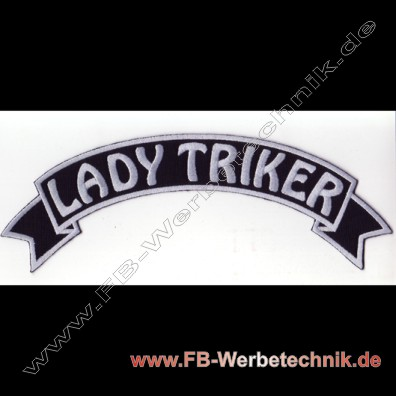 1104 LADY TRIKER Aufnäher Patch