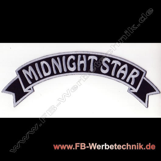 MIDNIGHT STAR Aufnäher Biker Patch