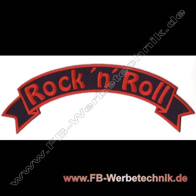 ROCK ´n´ ROLL Aufnaeher Patch