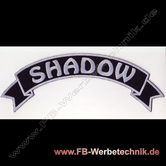 SHADOW Biker Banner Patch