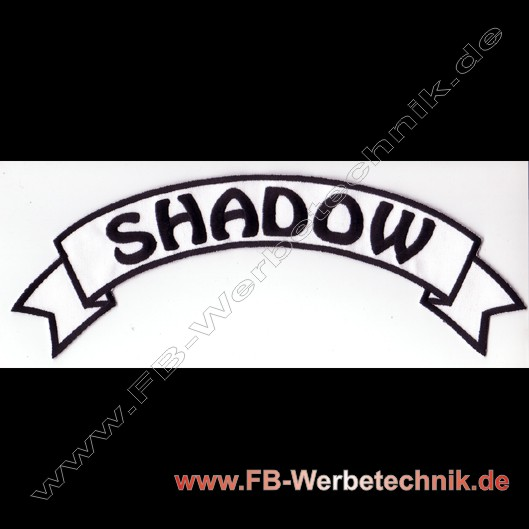 SHADDOW Top Rocker Motorrad Patch
