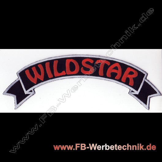 WILDSTAR Rücken Banner Patch