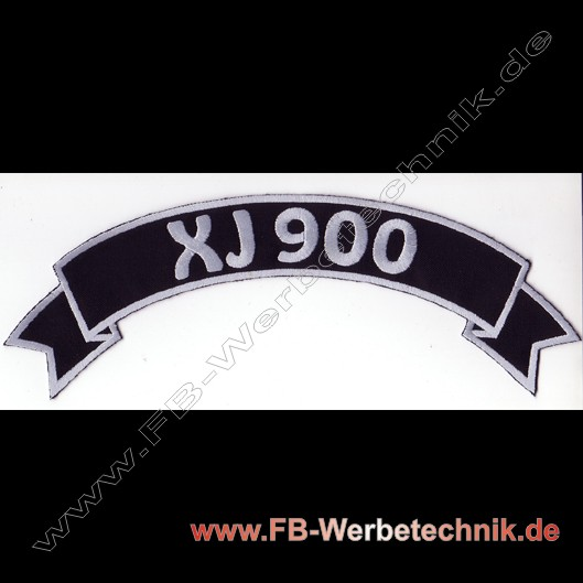XJ 900 Top Rocker Patch Patches