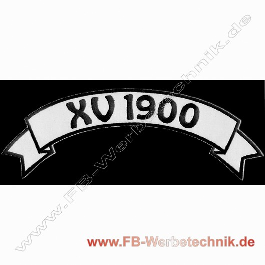 XV 1900 Top Rocker Patch Patches