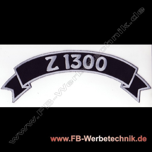 Z 1300 Top Rocker Aufnaeher Patch
