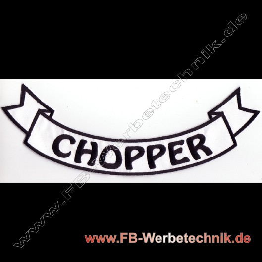 CHOPPER Aufnäher Biker Patch