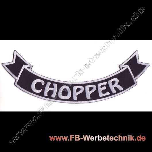 1245 CHOPPER Aufnäher Biker Patch