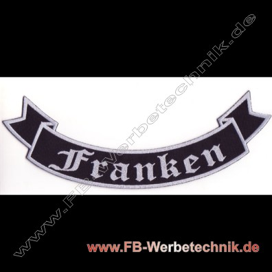 FRANKEN Aufnäher Biker Backpatch