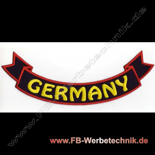 GERMANY Aufnäher Biker Patch