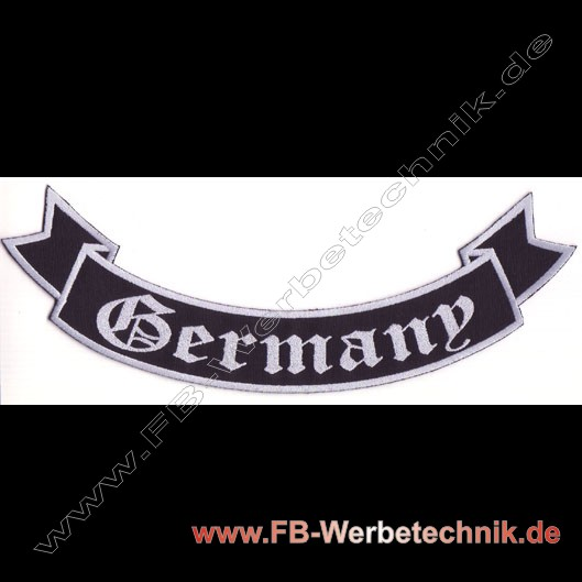 1262 GERMANY Aufnäher Biker Patch