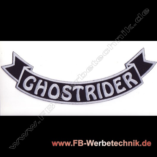 1267 GHOSTRIDER Aufnäher Biker Patch