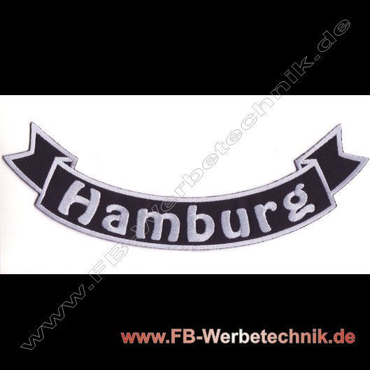 HANBURG Aufnäher Biker Patch