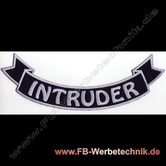 INTRUDER Aufnäher Biker Patch