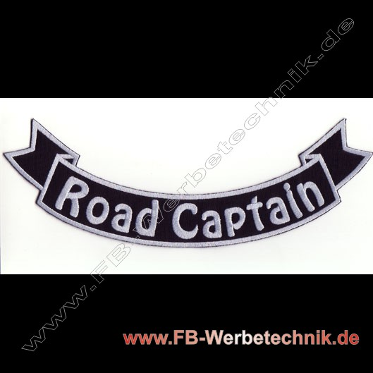 ROAD CAPTAIN Aufnaeher Patch