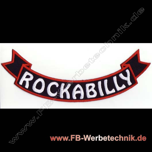 ROCKABILLY Aufnaeher Patch