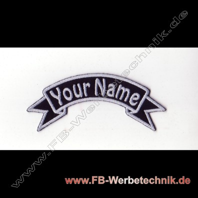 1347 WUNSCHNAME Aufnäher Patch