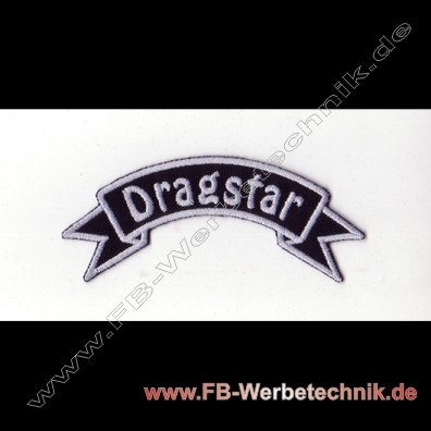 DRAGSTAR Aufnäher Biker Patch
