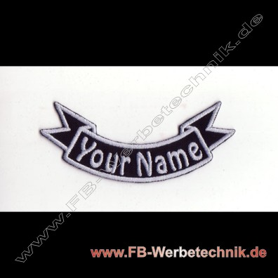 1358 WUNSCHNAME Aufnäher Patch