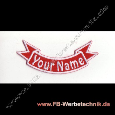 1359 WUNSCHNAME Aufnäher Patch