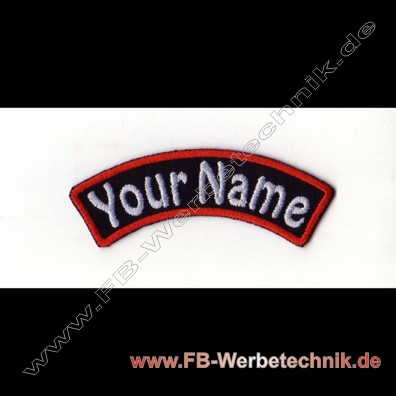 1372 YOUR NAME Patch 9x2,5cm