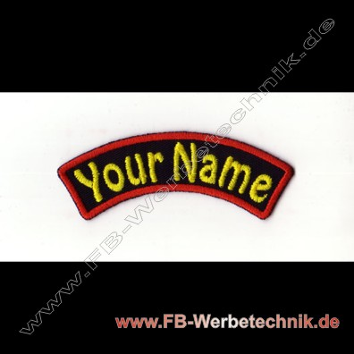 1373 YOUR NAME Patch 9x2,5cm