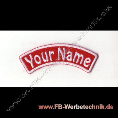 1374 YOUR NAME Patch 9x2,5cm