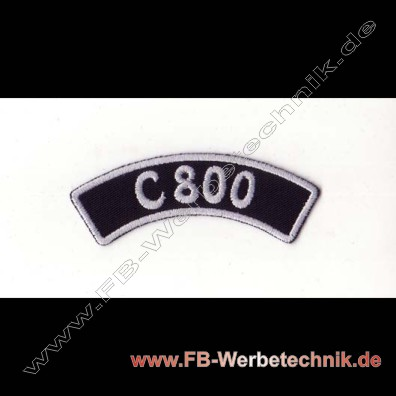 C 800 Aufnäher Biker Patch Patches
