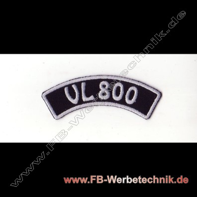 VL 800 Aufnäher Biker Patch Patches