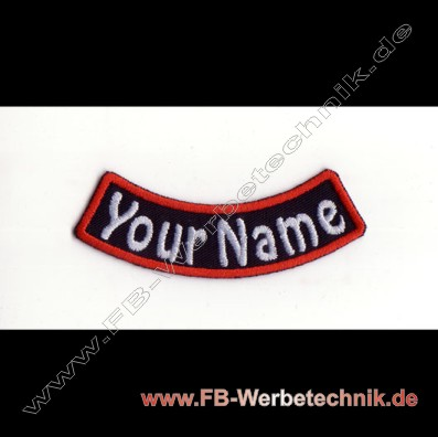 1399 YOUR NAME Patch 9x2,5cm