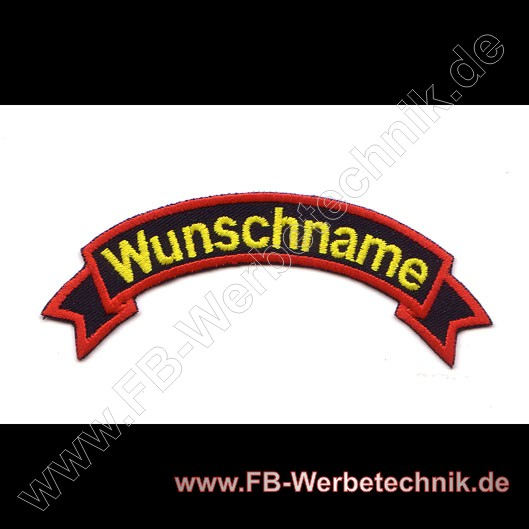 1413 WUNSCHNAME Aufnäher Patch