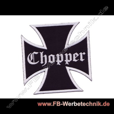 EK CHOPPER Kreuz Patch Patches