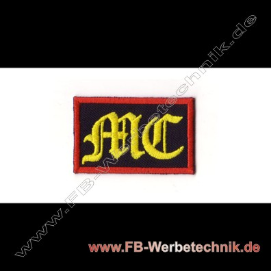 MC Aufnäher Patch Biker kutte Patch