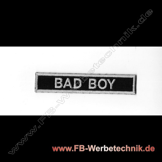 BAD BOY Aufnäher Biker Patch
