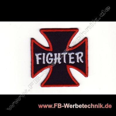 KREUZ EK FIGHTER Aufnäher Patch