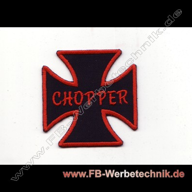 KREUZ EK - CHOPPER Patch Patches