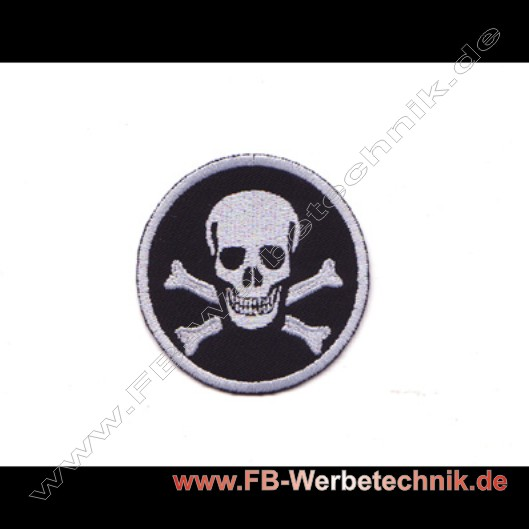 PIRATEN SKULL Aufnaeher Patch