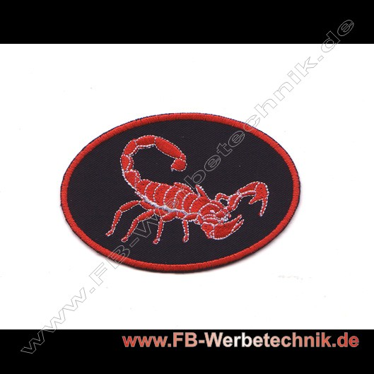 SCORPION Aufnäher Patch Patches