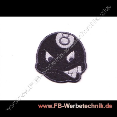 CRAZY 8 BALL Aufnaeher Patch