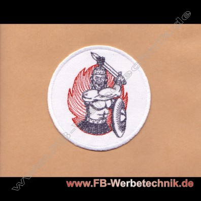 FIGHTER Kaempfer Aufnäher Patch