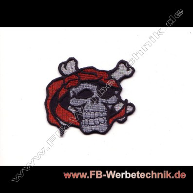 PIRATEN TOTENKOPF SKULL Patch