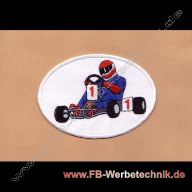 KART Aufnäher Patch Patches