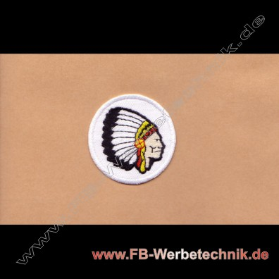 INDIANER CHIEF Aufnäher Biker Patch