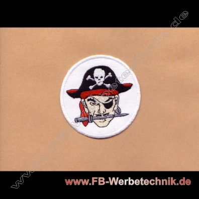 PIRATEN PIRATE Aufnäher Patch