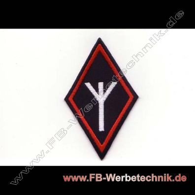 algiz lebensrune rune patch biker aufn her online shop patches stickerei motorrad backpatches. Black Bedroom Furniture Sets. Home Design Ideas