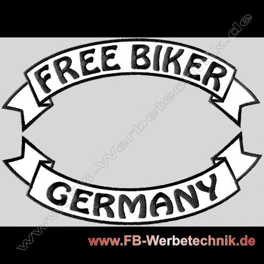 FREE BIKER - GERMANY Patch