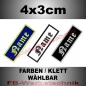 Preview: Namensschild 4x3cm Aufnäher Patches S02